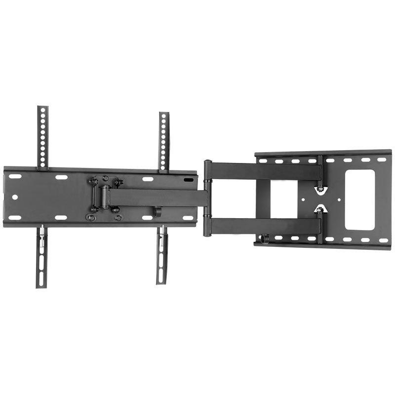 tv wandhalterung schwenk und neigbar einzelarm nur 65mm wandabstand. Black Bedroom Furniture Sets. Home Design Ideas
