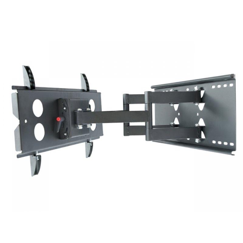 Tv wandhalterung schwenk und neigbar doppelarm 23 32 69 90 - Wandhalterung tv und receiver ...
